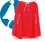 "Cape to go® ""Das Original"" Damen-Badeponcho Hanna"